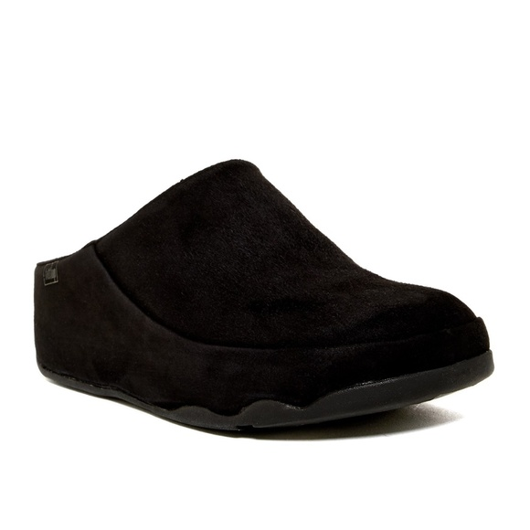 ede5f664b Fitflop Gogh Clog Suede Black Size US 5